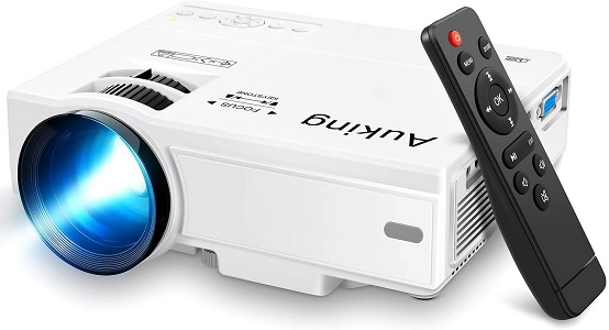 09. Mini Projector 2020 Upgraded Portable Video-Projector