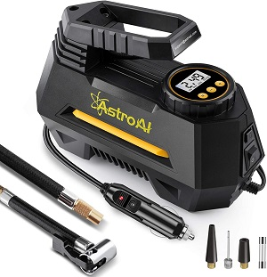 09. AstroAI Air Compressor Tire Inflator, Portable Air Pump