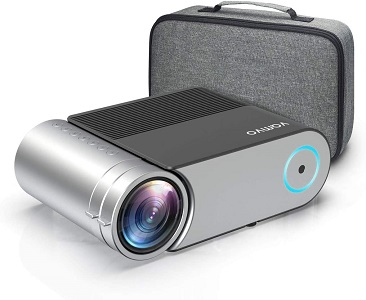 07. Mini Projector, Vamvo L4200 Portable Video Projector