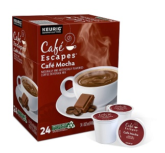 2. Cafe Escapes, Cafe Mocha Coffee Beverage