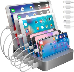 8. Hercules Tuff Charging Station for Multiple Devices
