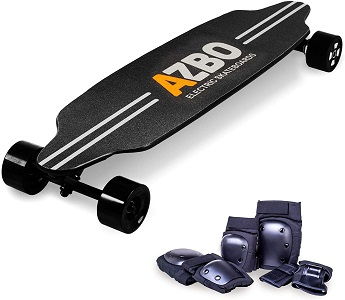 3. Electric Skateboard Longboard with Remote Control