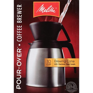 3. Melitta Coffee Maker, 10 Cup Pour