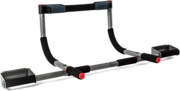 6: Perfect Fitness Multi-Gym Doorway Pull Up Bar and Portable Gym System