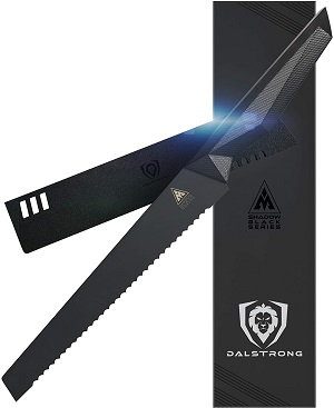 1. DALSTRONG Serrated Bread Knife