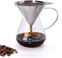 8. LHS Store Pour-over Coffee Maker