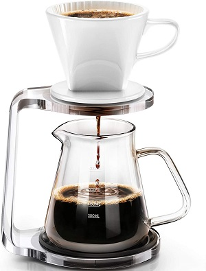 4. Pour-over Coffee Maker Starter Set with Dripper