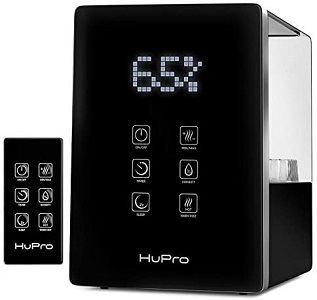 4. Hupro Air Humidifier for Bedroom and Essential Oil Diffuser