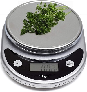 8. Ozeri ZK14-S Pronto Digital Multifunction Kitchen and Food Scale