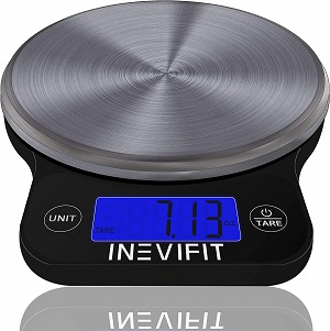 4. INEVIFIT Digital Kitchen Scale
