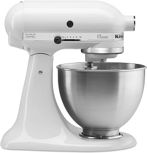 10: KitchenAid K45SSWH, White