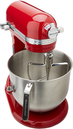 5: KitchenAid KSM8990ER 8-Quart Commercial Countertop Mixer