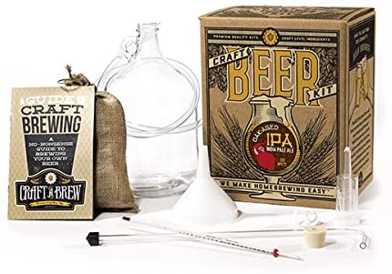 2: Craft A Brew Home Brewing Oak Aged IPA Reusable Make Your Own Beer Kit