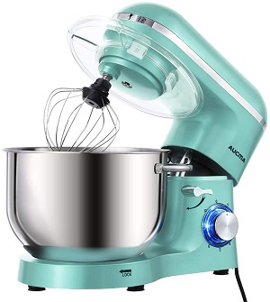 4: Aucma Stand Mixer, 6.5-QT 660W 6-Speed Tilt-Head Food Mixer
