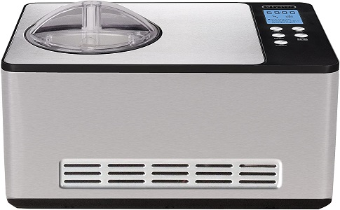 9. Whynter ICM-200LS Stainless Steel Automatic Ice Cream Maker
