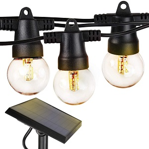 2. Brightech Waterproof Ambience Pro Solar LED String Lights, Soft White