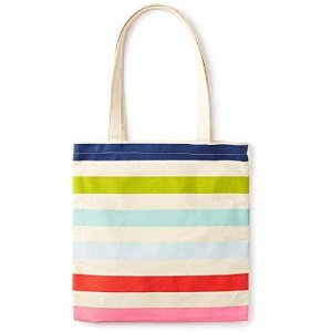 4. Kate Spade Canvas Tote Bag with inner Pocket