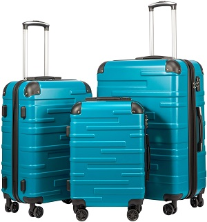 6: Coolife Luggage Expandable (only 28