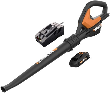 4. WORX WG545.6 2.0Ah 20V Cordless Leaf Blower with Charger