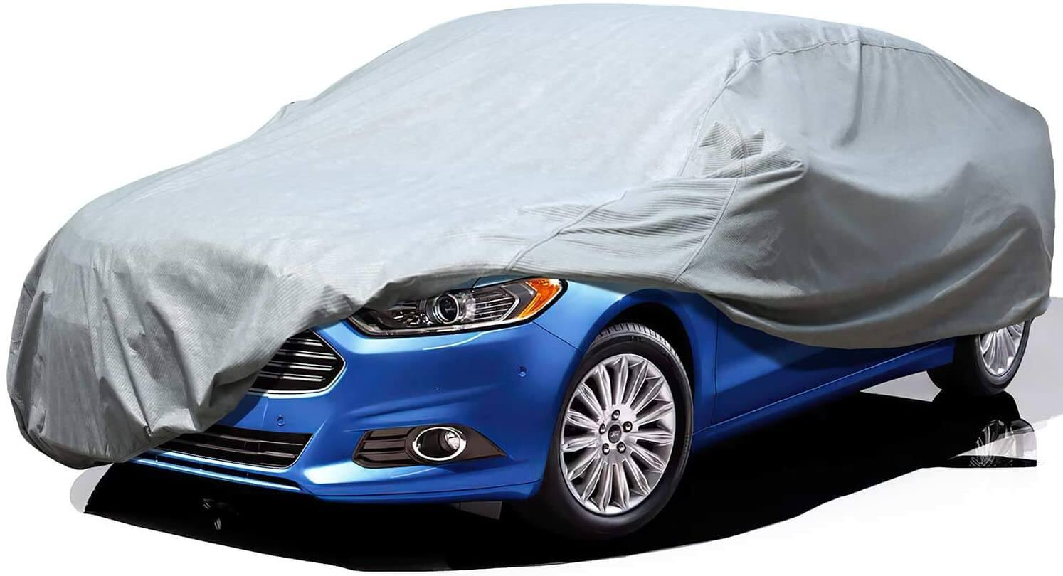 1. Leader Accessories 3 Layer Breathable Car Cover